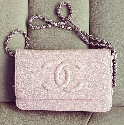 Pink Chanel Cross-body