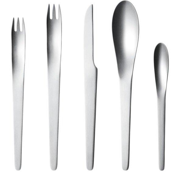 Arne Jacobsen 5-piece Steel Cutlery Set