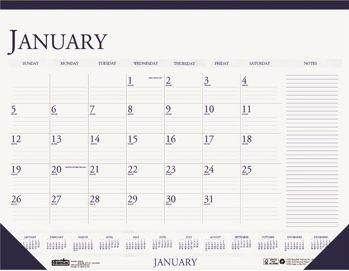 A Desk Pad Calendar