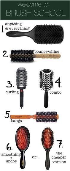 Hair Brush Hacks