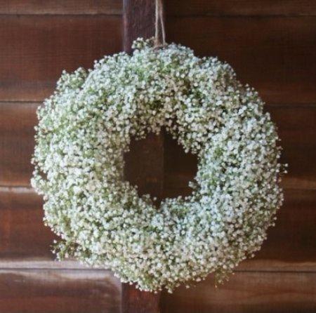 DIY Baby Breath's Wreath That's so Fairylike