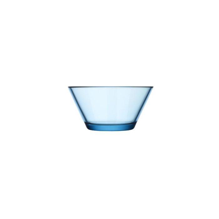 Iittala Kartio 13-Ounce Glass Bowl, Light Blue