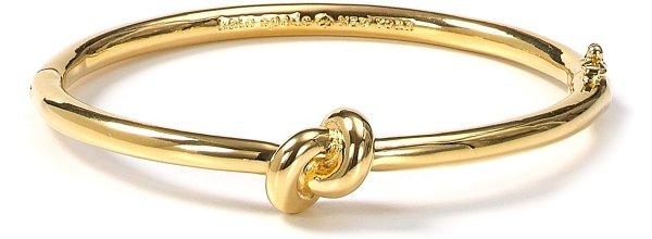 Sailors Knot Hinge Bangle Bracelet