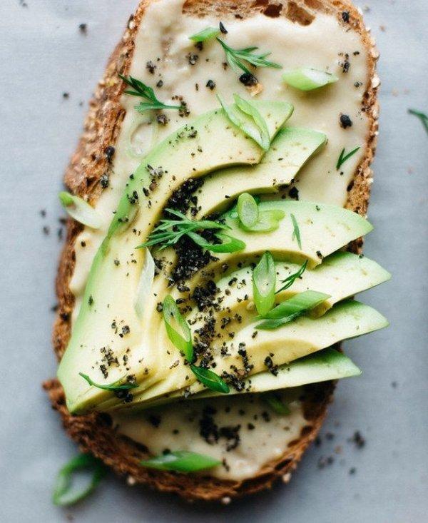 Cheesy Toast with Avocado
