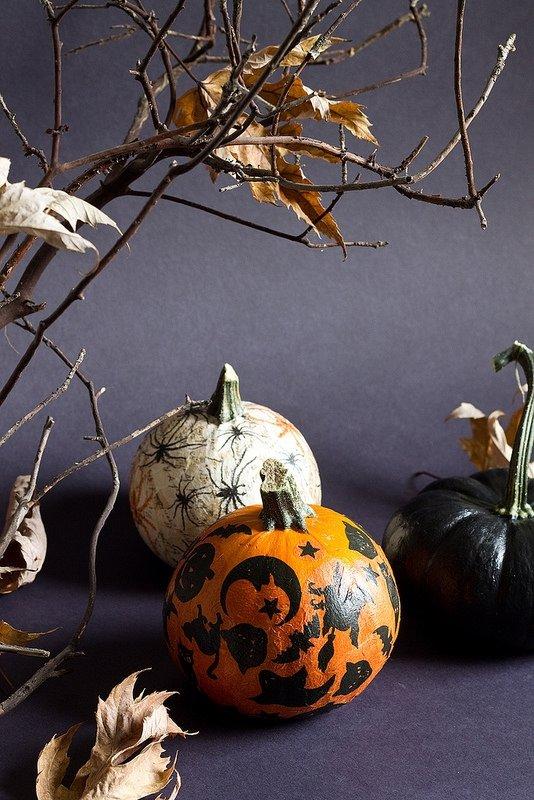 DIY Paper Napkin Pumpkin