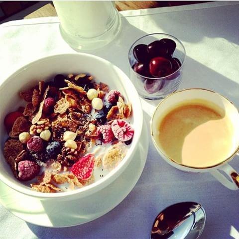 dish, food, meal, breakfast, muesli,