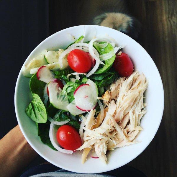 food, dish, salad, produce, meal,