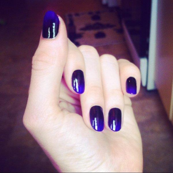 nail, color, finger, pink, blue,
