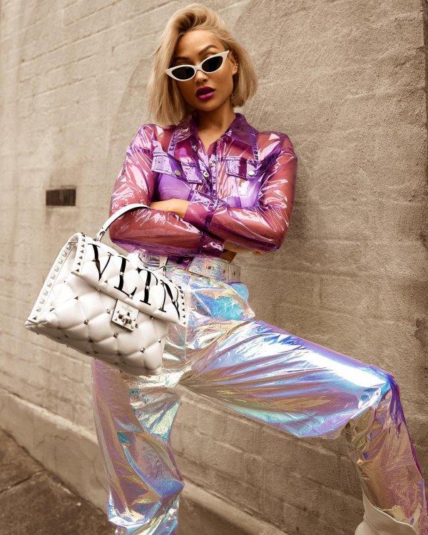 Clothing, Pink, Street fashion, Fashion, Eyewear,