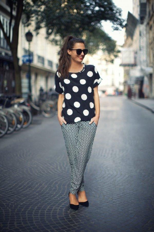 Print + Polka Dots