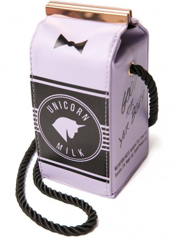 The Milk Carton Bag is Unusual
