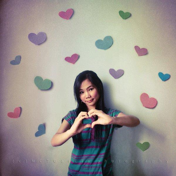 Pink, Green, Purple, Beauty, Wall,