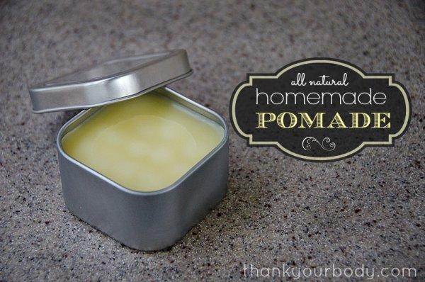 All Natural Homemade Pomade