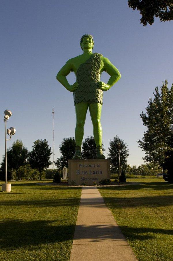 Jolly Green Giant, Blue Earth, Minnesota