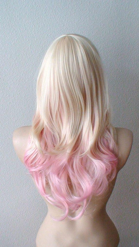 Blonde Pink Ombré