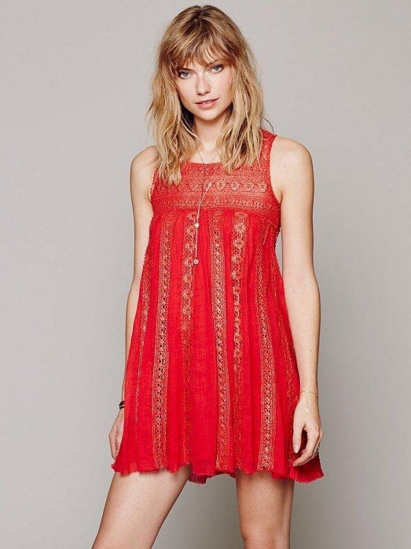 FP Foiled Annabella Dress