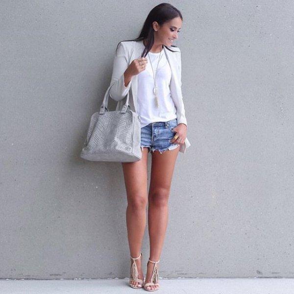 white, clothing, denim, sleeve, outerwear,