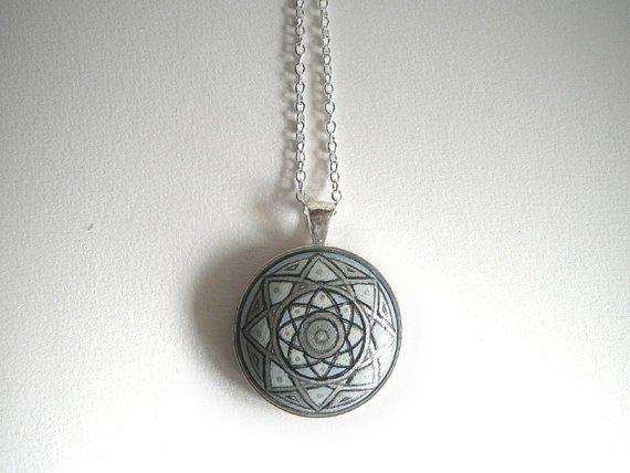 Mandala Art Pendant