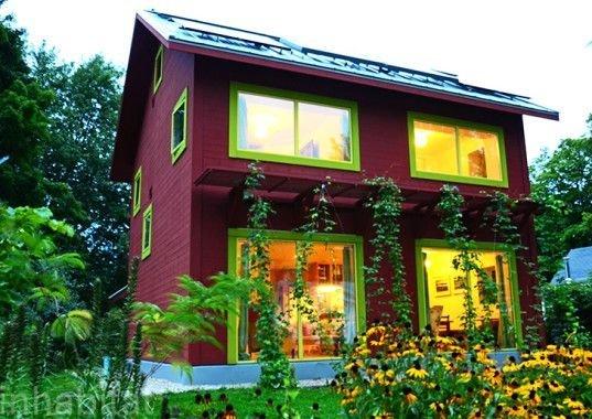 Passive Home, Wisconsin, USA