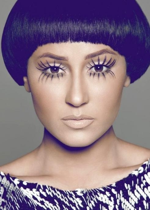 face,hair,blue,eyebrow,purple,