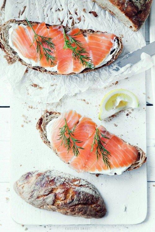 fish, food, fish, smoked salmon, seafood,