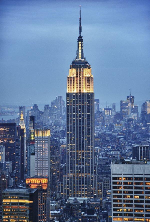Empire State Building: New York, USA