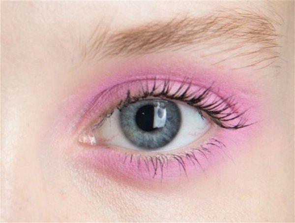eyebrow, face, eyelash, pink, eyelash extensions,