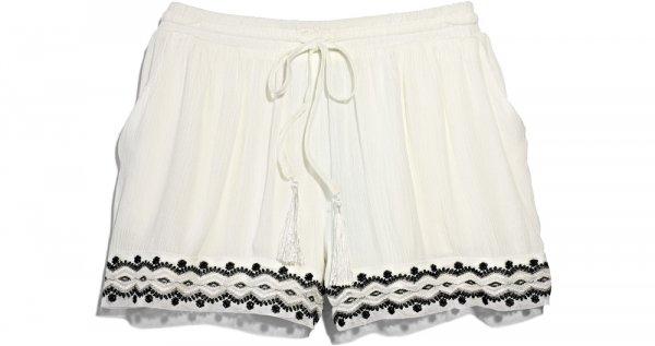TJMAXX White Linen Shorts