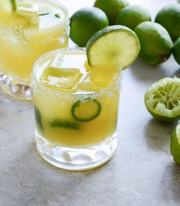 Mango Jalapeno Margaritas