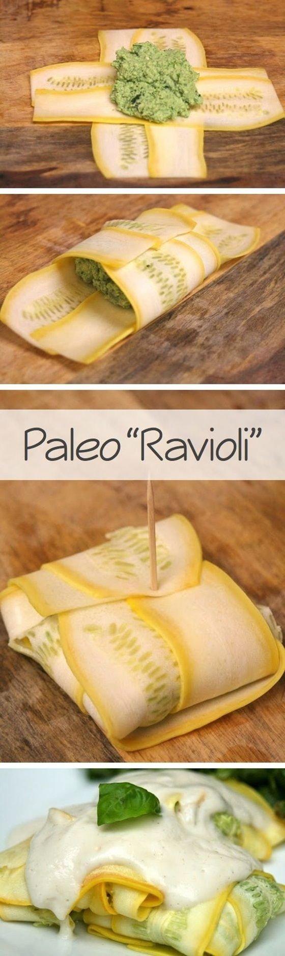 """Veggie """"Ravioli"""""""