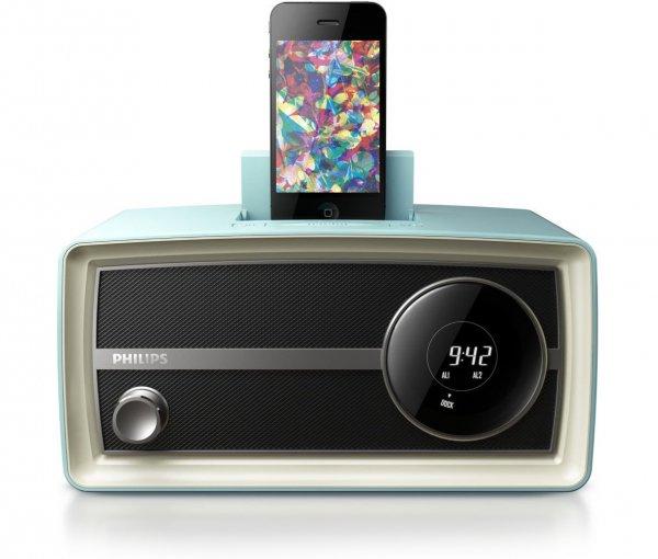 Original Radio Mini, Blue, for 30 Pin IPod/iPhone