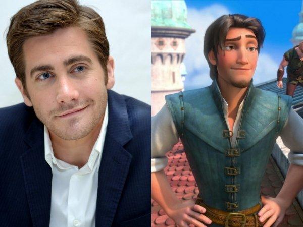"Jake Gyllenhaal as Flynn Rider in ""Tangled"""