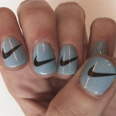 Nike Nail Art