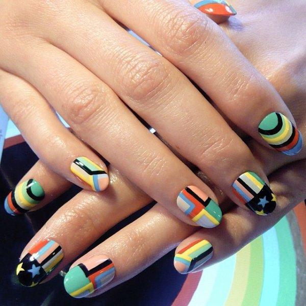 nail, manicure, nail care, yellow, cosmetics,