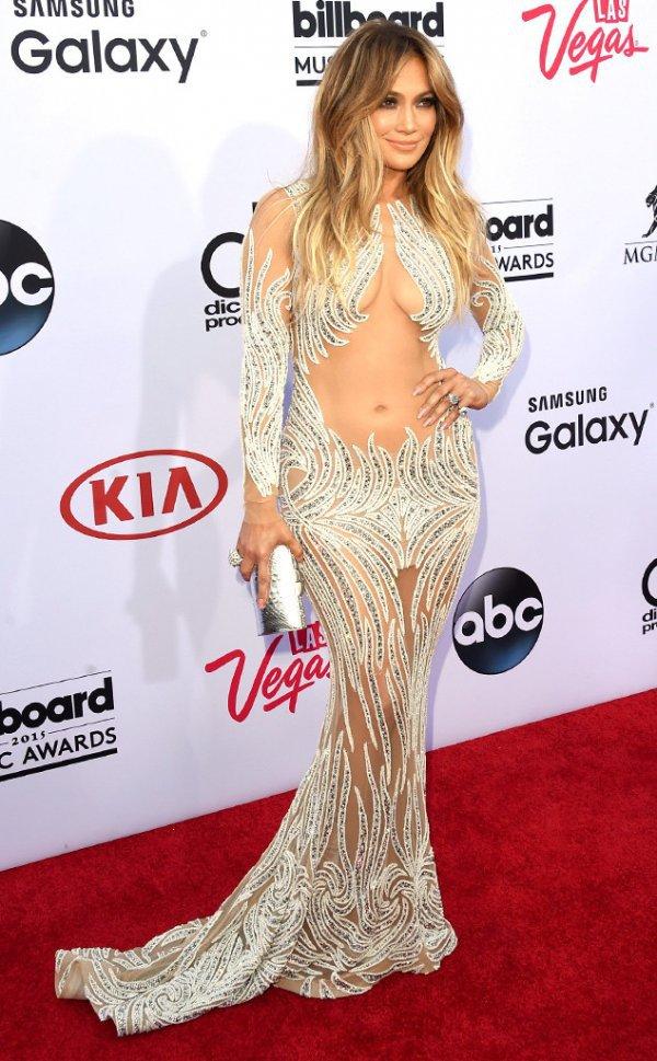 Jennifer Lopez at the 2015 Billboard Music Awards