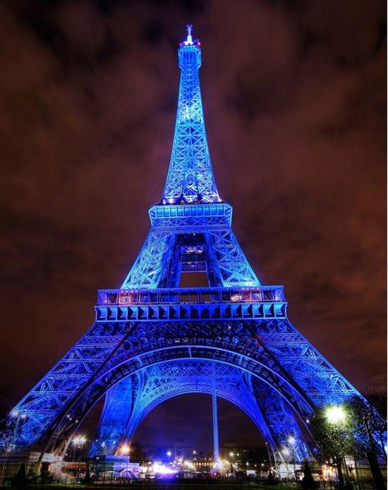 The Eiffel Tower : Paris, France