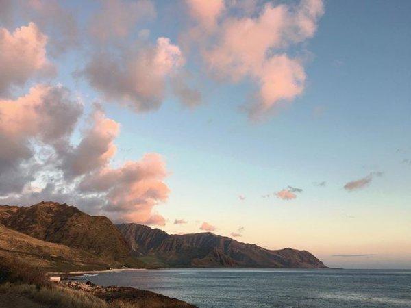 sea, sky, ocean, cloud, shore,