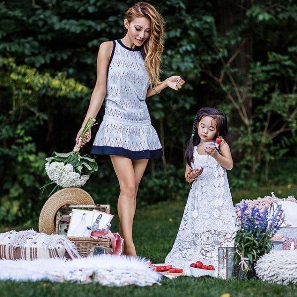 dress, spring, portrait photography, photo shoot, picnic,