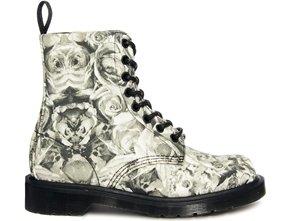 Dr Martens Skull Print Boots…