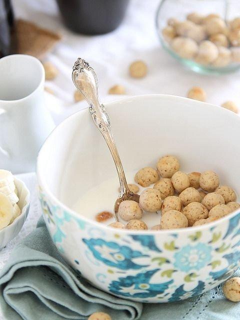 Vanilla Almond Cereal Puffs