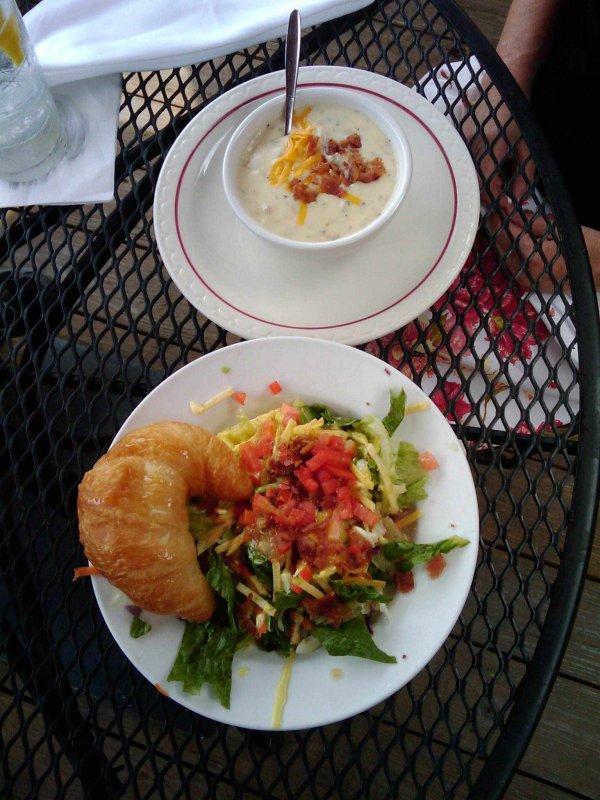 Soup, Salad & Whole Wheat Breadsticks