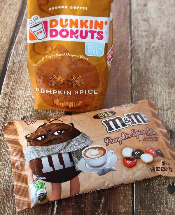 Pumpkin Spice Latte M&M's