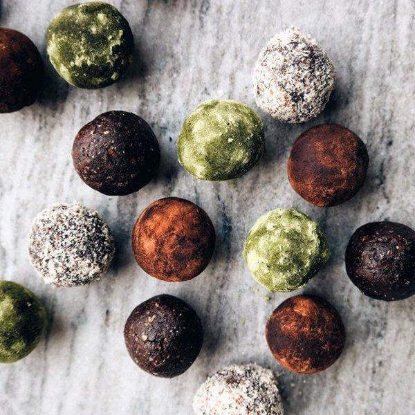 food, produce, bead, pebble, chocolate truffle,