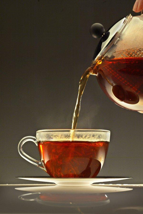 A Tea Rinse to Add Shine