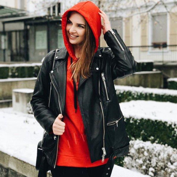 jacket, red, leather jacket, fashion, coat,