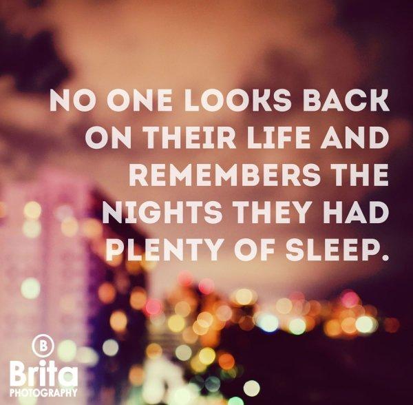 Skip out on Some Sleep