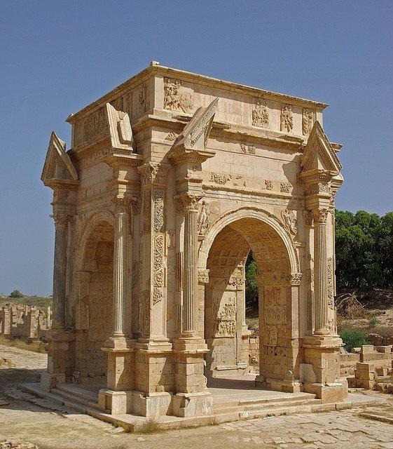 Arch of Septimius Severus, Lepcis Magna, Libya