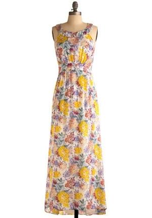 Floor-al Length Dress