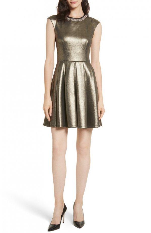dress, day dress, cocktail dress, fashion model, shoulder,