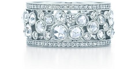 Tiffany Garden Cobblestone Band Ring